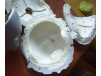 vacuum casting with soft mold